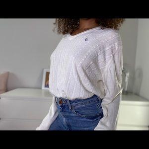 Vintage white Christian Dior sweater